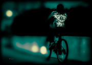 Surreal Photos - Royalty On A Bicycle  by Bob Orsillo