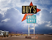 Oldzero Photos - Roys on Route 66 by Steve Benefiel