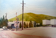 Cobb Originals - RR Tracks at Kennesaw Mountain by Kathy Rennell Forbes
