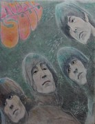 Beatles Mixed Media - Rubber Soul by Glenn Daniels