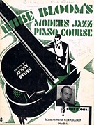 Pianists Prints - Rube Blooms Modern Jazz Piano Course Print by Mel Thompson