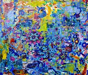 Electronic Paintings - Rube Goldberg Abstract by Regina Valluzzi