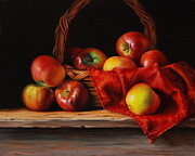 Chiaroscuro Originals - Rubens Apples by Dan Petrov