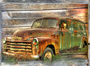 Classic Truck Posters - Rubens Good Chicks 2 Poster by Thomas Young