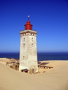 Jensen Prints - Rubjerg knude lighthouse Print by Konni Jensen