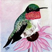 Sandra Maddox - Ruby-throated...