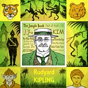 Rudyard Kipling Print by Paul Helm