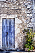 French Door Prints - Rue de Moissac - France Photography Print by Georgia Fowler