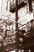Old Montreal Photos - Rue Visitation by John Rizzuto
