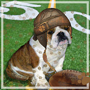 Nfl Playoffs Posters - Ruff Game Poster by Elizabeth  Just