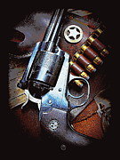 44 Magnum Prints - Ruger Super Blackhawk  Print by Sheri McLeroy