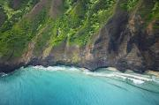 Rugged Na Pali Coast Print by Kicka Witte