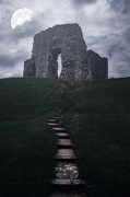 Stairs Prints - Ruin Of Castle Print by Joana Kruse