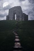Ruin Of Castle Print by Joana Kruse
