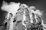 Ancient Rome Art - Ruined Area Of The Old Roman Colloseum At El Jem Tunisia by Joe Fox