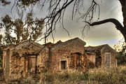 Spooks Photos - Ruined Sounion House 2 by Deborah Smolinske