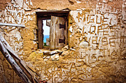 Graffiti Photo Framed Prints - Ruined Wall Framed Print by Carlos Caetano