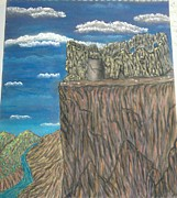 Castle Pastels - Ruins by Greg Wardle