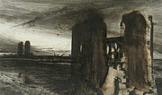 Ruins In A Landscape Print by Victor Hugo
