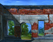 Louisiana Metal Prints - Ruins in Pleaant Hill Metal Print by Lenora  De Lude