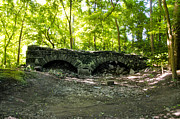 Montgomery Prints - Ruins of Keyser Mill Along the Perkiomen Creek Print by Bill Cannon