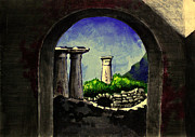 Haunted Hills Prints - Ruins Print by Salman Ravish