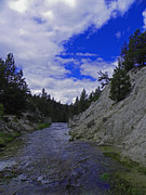 Idaho Scenery Prints - Runaway - Horsethief Creek Print by Photography Moments - Sandi