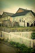 Run Down Shack Prints - Rundown Shacks Print by Jill Battaglia