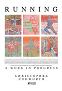 Runner Pastels Posters - Running A Work in Progress Poster by Christopher  Cudworth