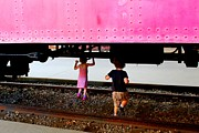 Laurie Freitag - Running Under the Trains