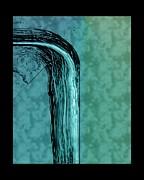Running Water Print by Steve Godleski