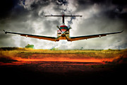 Paul Job Metal Prints - Runway Inspection  Metal Print by Paul Job