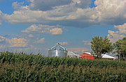 Rural Indiana Photo Prints - Rural Indiana Scene - Adams County Print by Suzanne Gaff