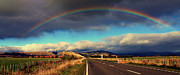 Aotearoa Art - Rural Rainbow by Vaneasa Conner