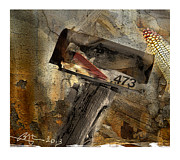 Mail Box Mixed Media - Rural Route 473 by Bob Salo