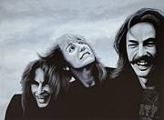 Singer Painting Metal Prints - Rush Metal Print by Paul  Meijering