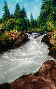 Melanie Lankford Photography - Rushing Rogue Gorge