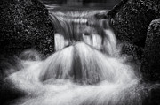 Flowing Water Prints - Rushing Waters Devon Print by Tim Gainey