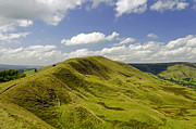Countryside Prints - Rushup Edge from Mam Tor Print by Rod Johnson