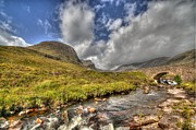 Wester Ross Prints - Russel Burn 2 Print by Chris Thaxter