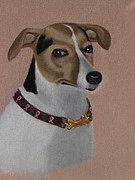Russell Terrier  Print by Susan Roberts