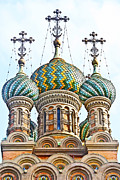 Russian Orthodox Church Of Nativity Print by Fabrizio Palumbo