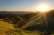 Open Area Prints - Russian Ridge in Transition Print by Matt Tilghman