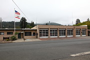 First Responders Posters - Russian River Fire District 1 In Guerneville California 5D25917 Poster by Wingsdomain Art and Photography
