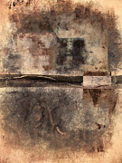 Graffitti Prints - Rust and Walls No. 2 Print by Carol Leigh