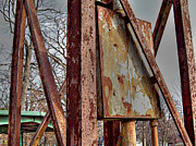 Mj Photo Prints - Rust Print by Mj Olsen