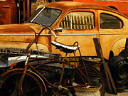 Garage Wall Art Prints - Rust Race Print by Joe JAKE Pratt