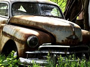 Rusted Cars Posters - Rusted Memories Poster by Chad Thompson