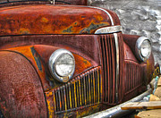Rusted Cars Posters - Rusted Studebaker Poster by Gregory Dyer
