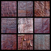 Architectural Exterior Prints - Rusted Tin Print by Art Blocks